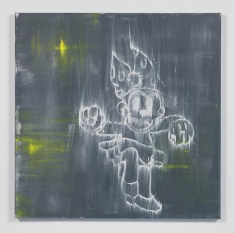 Gary Simmons - North Star painting