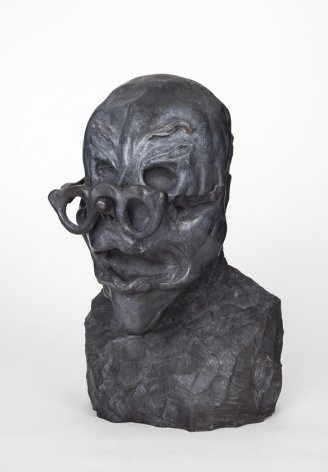 Wife, 2013. Bronze, 17.72 x 9.84 x 7.48 inches (45 x 25 x 19 cm).
