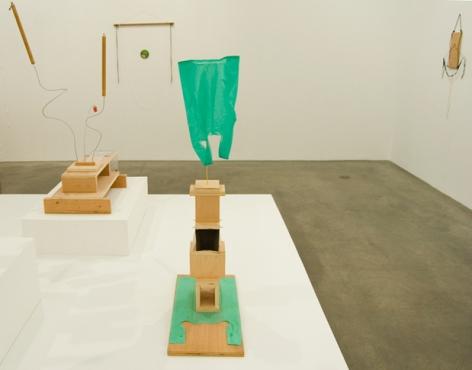 B. Wurtz: Works 1970–2011, installation view. Metro Pictures, New York.