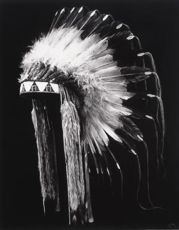 Robert Longo, Untitled (Russian Copy of Plains Headdress), 2019.