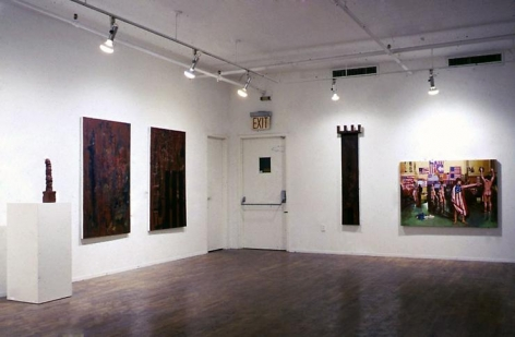 Installation view, 1986. Metro Pictures, New York.