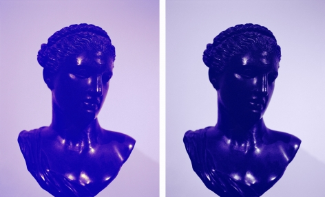 Roman Women VIII, 2013. 2 Digital C-prints, Each frame size 20 1/2 x 16 3/8 inches (52.1 x 41.6 cm).