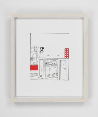 Louise Lawler work 'Dots and Slices (traced and painted), First'