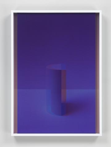 Setting Sun II, 2017. 2 digital C-prints, 20 x 14 1/2 inches (50.8 x 36.8 cm).