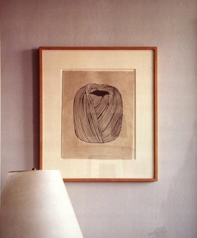 Louise Lawler, Portrait (Twine), 1993/2003.