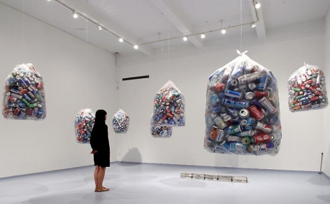 """""""Some Redemptions,"""" installation view, 2013. Metro Pictures, New York."""