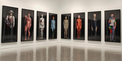 "Installation view of ""The Art Freaks,"" 2011. Metro Pictures, New York"