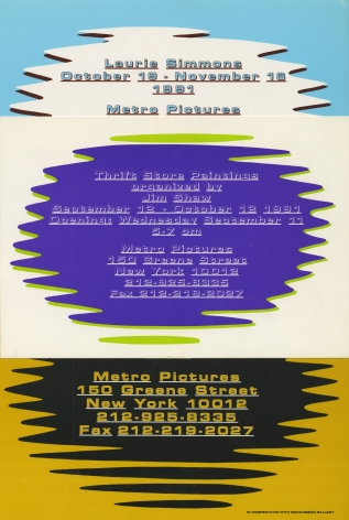 Invitations from 1991