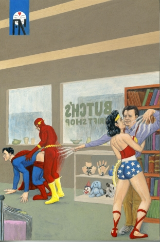 Dream Object: Paperback Cover (Superheroes), 2009.