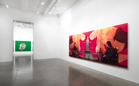 Ten Thousand Waves, 2011, installation view. Metro Pictures, New York.