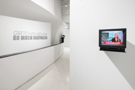So Much Deathless. Installation view, 2019. Red Bull Arts New York.
