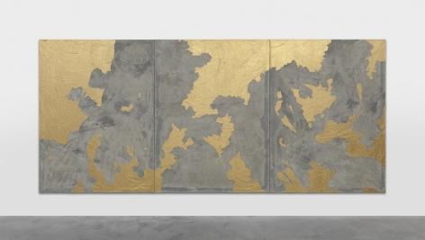 Latifa Echakhch painting 'Wind Wall Icon'