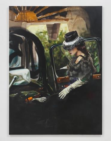 Sermoneta, 2018. Oil and acrylic on canvas,