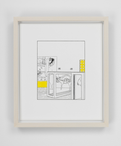 Louise Lawler work 'Dots and Slices (traced and painted), Second'