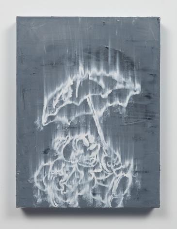 Gary Simmons - In The Rain painting