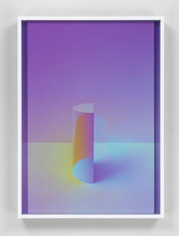 Rising Moon III, 2017. 2 digital C-prints, 20 x 14 1/2 inches (50.8 x 36.8 cm).