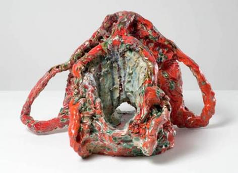 Head Artist (Red), 2007. 13 x 13-1/2 inches (33 x 31.8 cm). MP 26