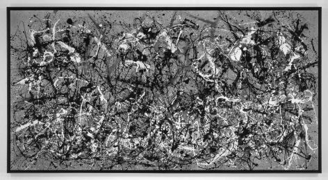 After Pollock (Autumn 2013 Rhythm, Number 30, 1951), 2014.