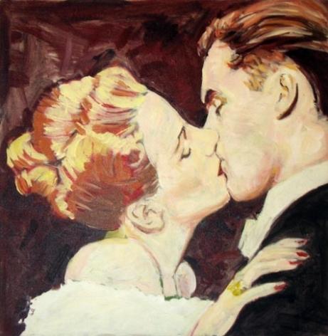 Mistletoe, 1983. Acrylic on canvas, 24 x 24 inches (61 x 61 cm). MP 17