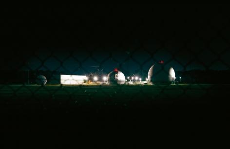 Trevor Paglen photograph 'NSA Surveillance Base, Egelsbach, Germany'