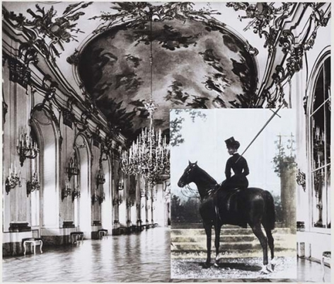 Tragedy (Sissi at the Great Gallery III), 2007. Archival inkjet print on watercolor paper