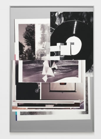 Afterform, 2013. Inkjet prints collaged and mounted on alubond, 59.06 x 39.37 inches (150 x 100 cm).