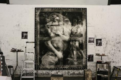 Robert Longo's Studio
