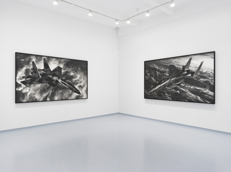 Them and Us. Installation view, 2018. Metro Pictures, New York.