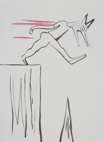 Camille Henrot Study for Nightmare (Minor Concerns), 2017