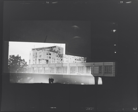 Recalling Frames, 2010. Black & white photograph, 42 1/2 x 51 1/4 inches, 108 x 130.2 cm.