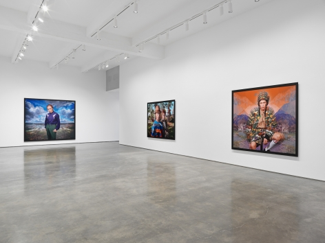Cindy Sherman at Metro Pictures. Installation view 2020.