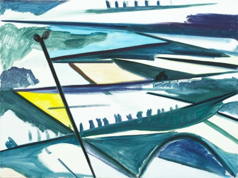 Untitled (the city) (RD-S033), 1986.