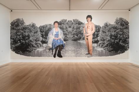 Cindy Sherman. Installation view, 2019. National Portrait Gallery, London.