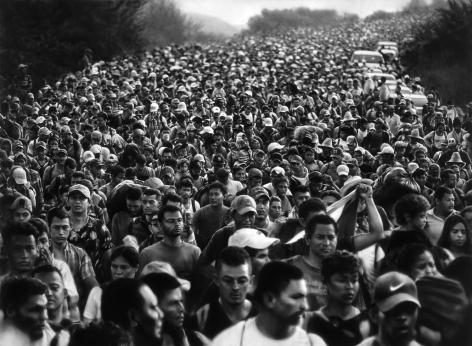 Untitled (Caravan; Arriaga, Mexico; October 27, 2018), 2019.