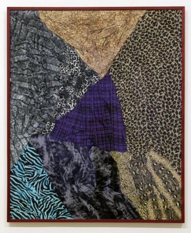 Nina Beier framed garment wall piece