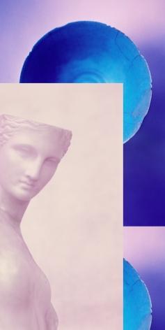 """Sara VanDerBeek photograph """"Women & Museums I"""""""