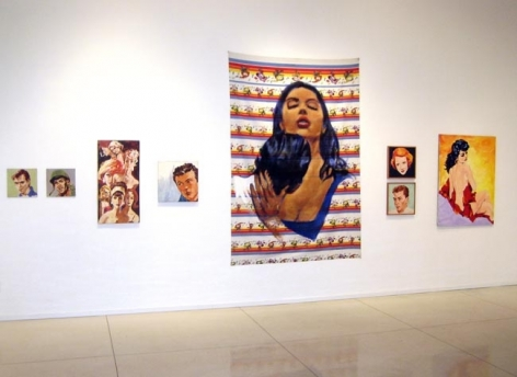 80s Paintings, 2008, installation view. Metro Pictures, New York.