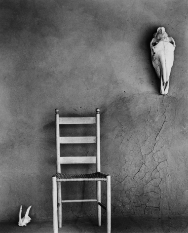 On the Portal, Ghost Ranch, 1949 Todd Webb