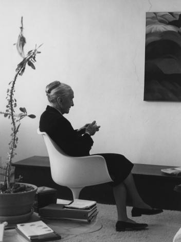Georgia O'Keeffe in Her Abiquiu Studio, 1977 Todd Webb