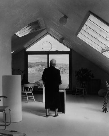 Georgia in Juan Hamilton's Studio, 1981