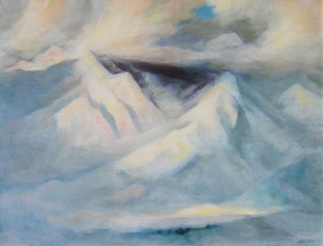 GENE KLOSS SHADOWED SNOW 26 x 34
