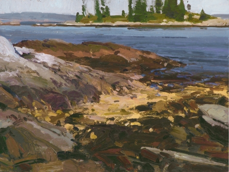 CHMIEL LOBSTER SEASON CHRISTMAS COVE OIL MAINE
