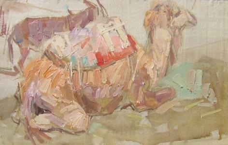 LEON SCHULMAN GASPARD CAMEL & BURRO