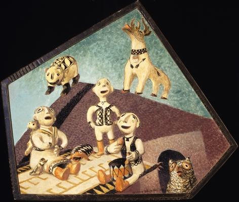 GUSTAVE BAUMANN COCHITI ENSEMBLE 33 x 38