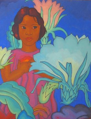 ARMAN MANOOKIAN POLYNESIAN GIRL