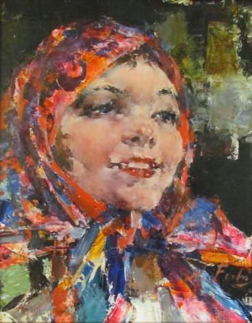 NICOLAI FECHIN RUSSIAN GIRL