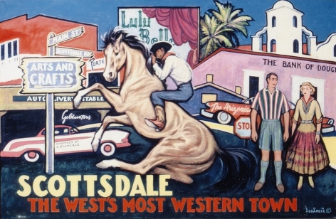 LON MEGARGEE SCOTTSDALE THE WEST'S MOST WESTERN TOWN