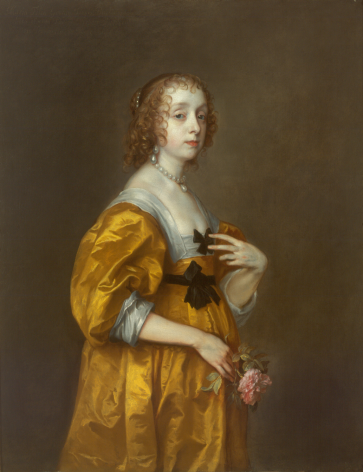 Sir Anthony van Dyck Villiers, Lady Herbert of Shurland Timken Museum of Art, San Diego Nicholas Hall Art Gallery Dealer Old Masters