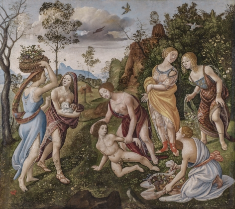 Cosimo, Piero di_Finding of Vulcan_1490