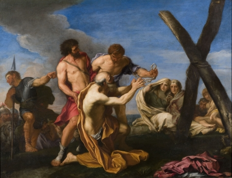 Carlo Maratti The Martyrdom of Saint Andrew
